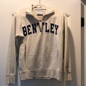 Bentley 1/4 zip sweatshirt